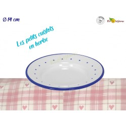 dinette enfant emaillée Assiette emaillée 530260 gluckskafer dinette durable
