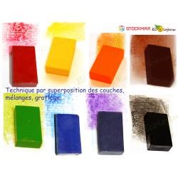 8 Blocs de Crayon Cire Stockmar AU CHOIX Cireà colorier Waldorf Steiner