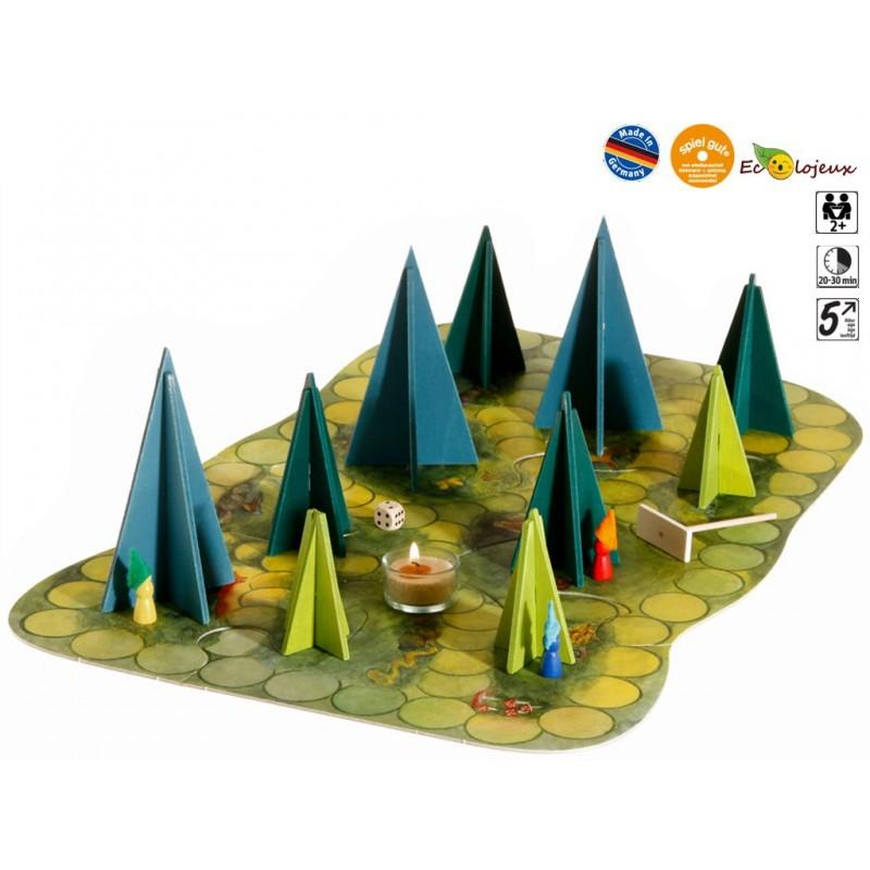jeu coopératif coopération Ombres en forêt Jeu dans le noir Original