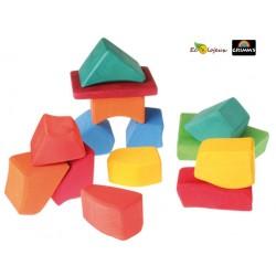 Cubes - Blocs Waldorf jeu de construction
