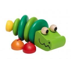 Jouet bois bébé Kroko