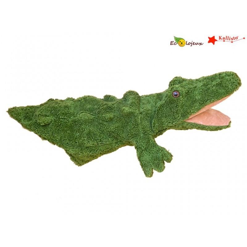 Marionnette Fait main bio Crocodile