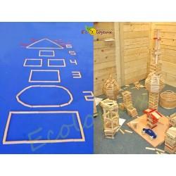 Kapla jeu construction bois