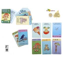 Editions bétula exbrayat Bataille Nature Forêt Jeu de cartes NATURE ENVIRONNEMENT CHAINE ALIMENTAIRE