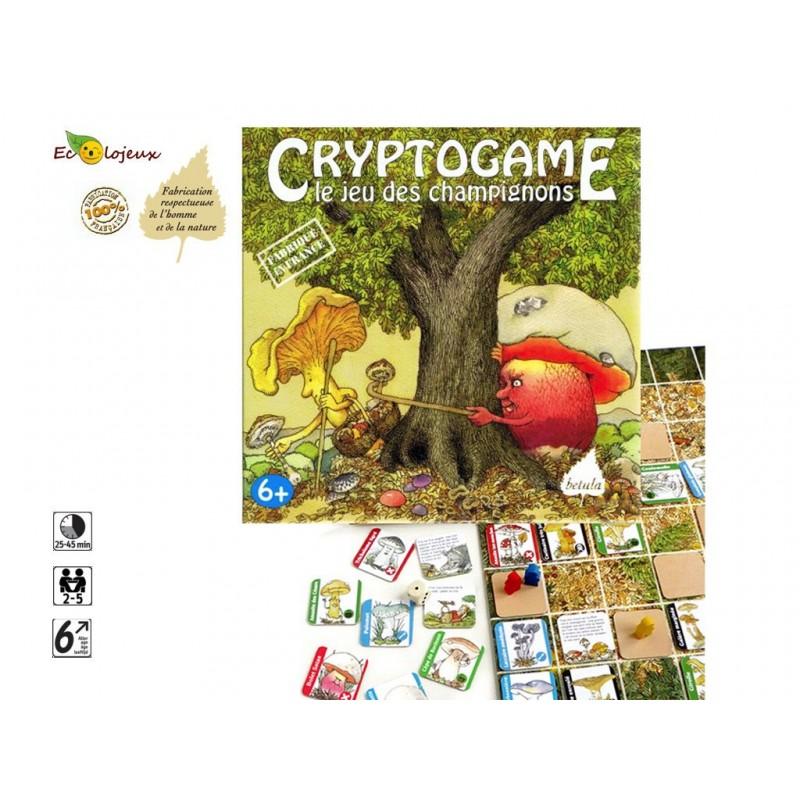 Cryptogame le jeu des Champignons