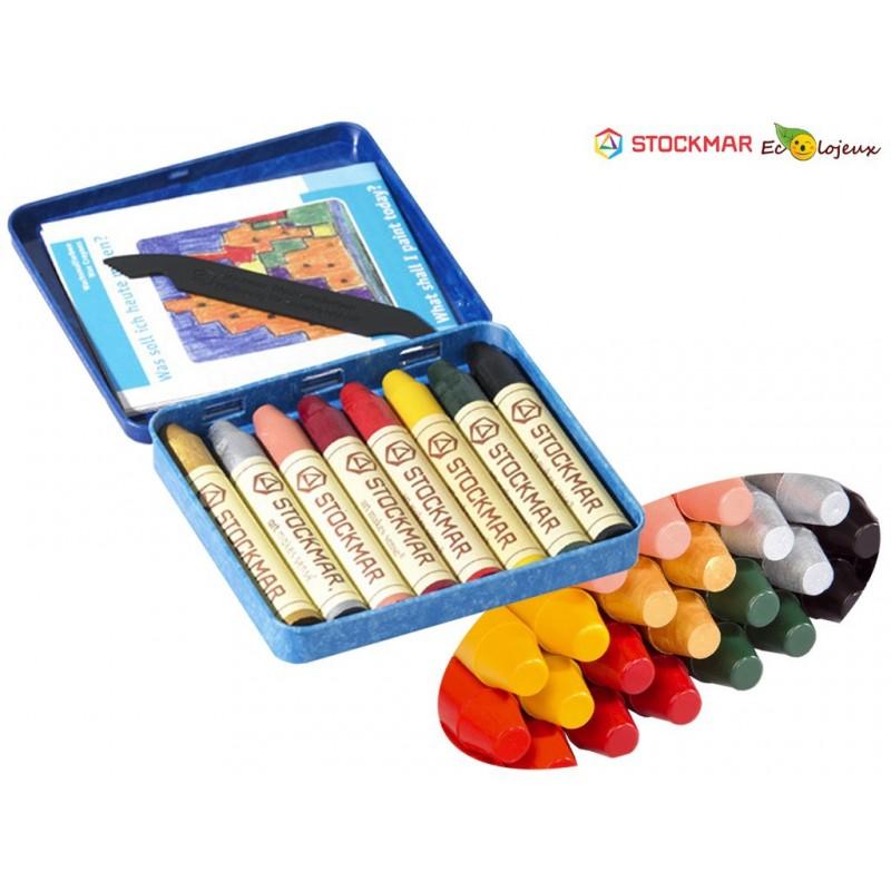 Crayons cire Couleurs complémentaires