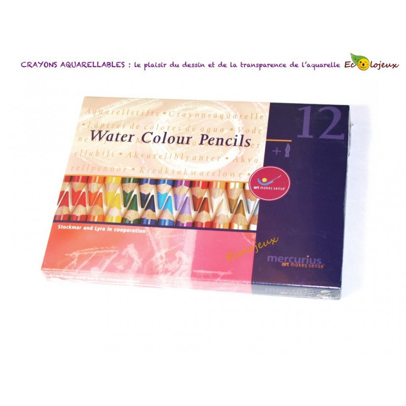 Crayons Aquarellables Art 12 crayons
