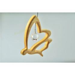 Swarovski suspension décorative Déco Mobile Papillon avec cristal Swarovski Fait-Main Artisanal