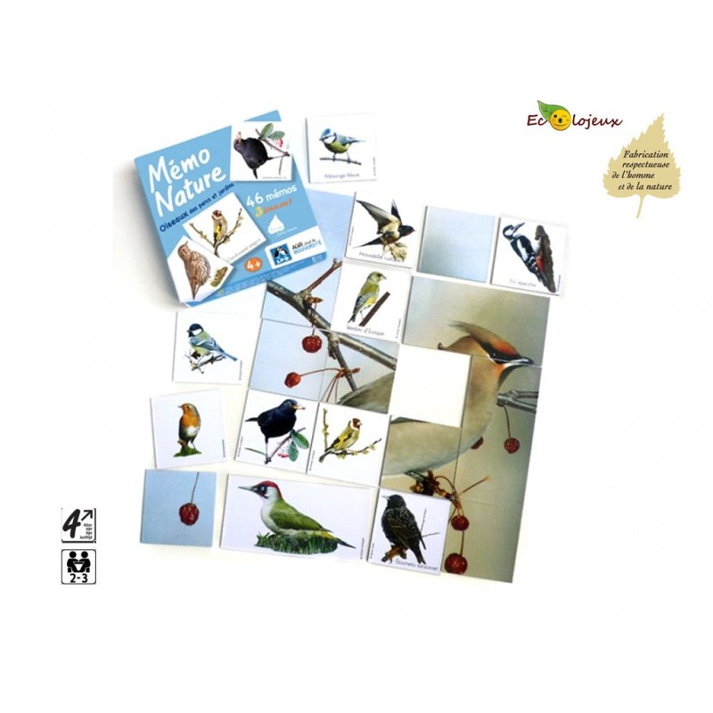 Mémo Nature Oiseaux
