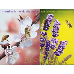 Jeu abeilles Jeu société français Abeilles jeu cartes : 7 Familles le mondes des abeilles