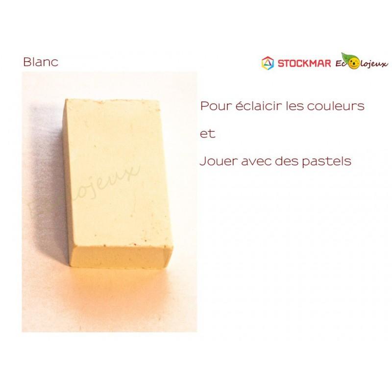 Stockmar bloc Cire à colorier Blanc