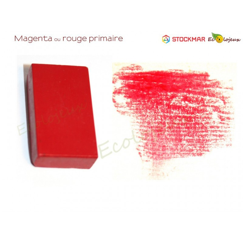 Stockmar bloc cire à colorier Magenta