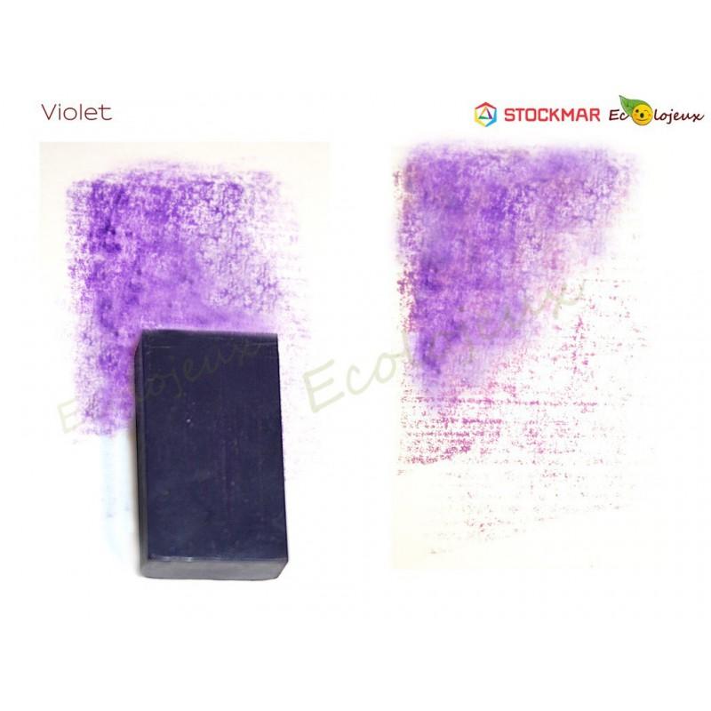 Stockmar Bloc de cire à colorier Violet