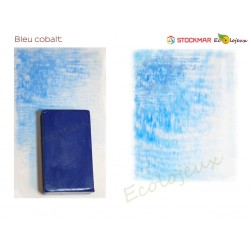 Stockmar bloc de cire à colorier Bleu Cobalt Ecole WALDORF STEINER Jardin d'enfants