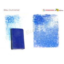 Stockmar bloc de cire à colorier Bleu Outremer Ecole WALDORF STEINER Jardin d'enfants
