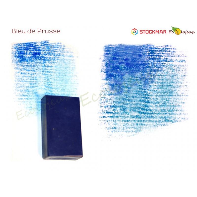 Stockmar bloc de cire à colorier Bleu Prusse