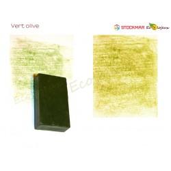 Stockmar bloc de cire à colorier Vert Olive