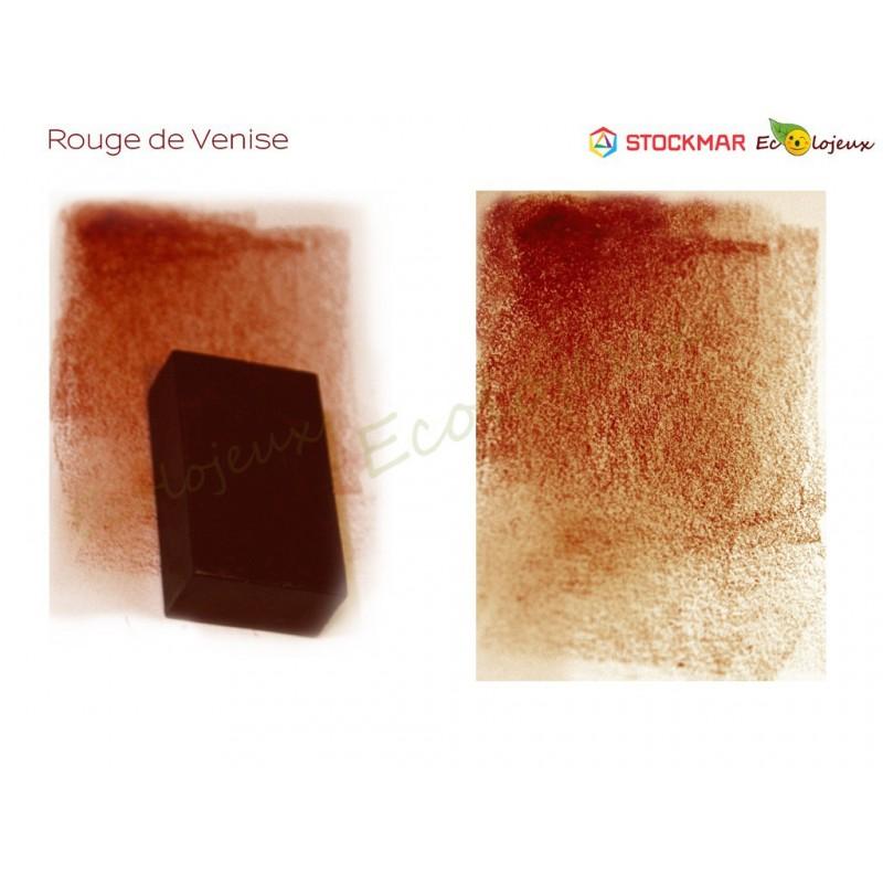 Stockmar bloc Cire à colorier Rouge de venise